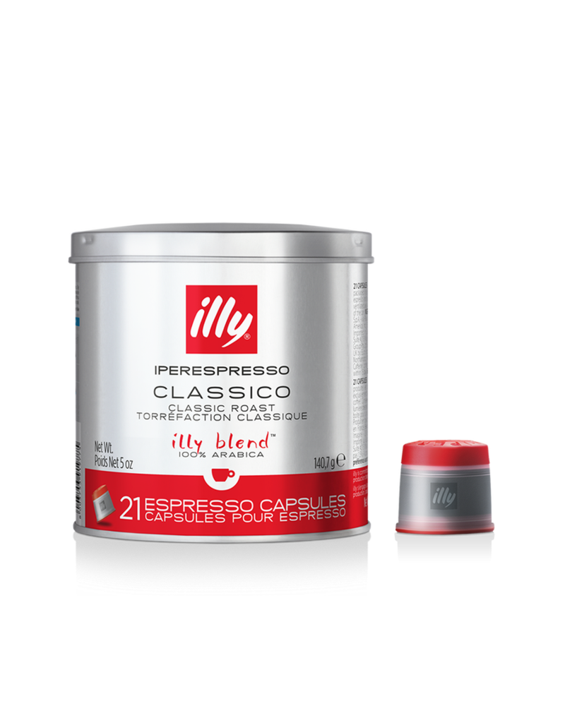 Illy Iperespresso koffiecapsules Classico - Rood