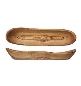 Olijfhouten Brood - Fruit schaal