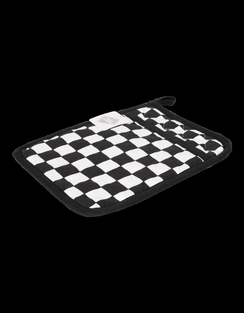 Inno Cuisino Pannenlap  Chef Blok zwart/Wit