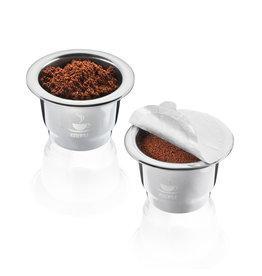 Gefu Koffiecapsules CONSCIO 2 stuks rvs