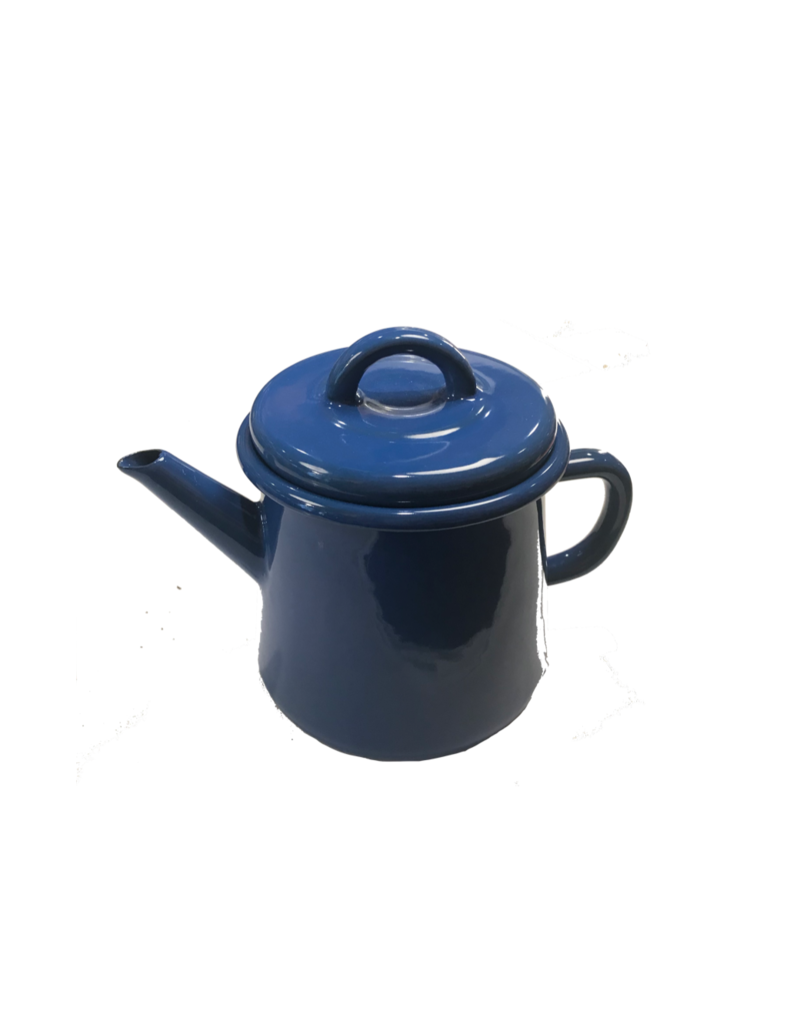 Emaille theepot nr3 Kobalt