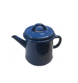 Emaille theepot nr2 Kobalt