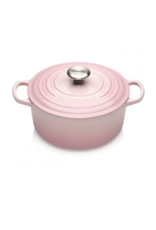Le Creuset Ronde braad-/stoofpan 24 cm Shell Pink