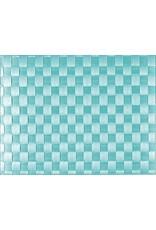 Saleen Saleen Placemat Aquamarine 45 x 30 cm