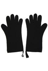 IL Cucinino Ovenwant met vingers lang zwart paar