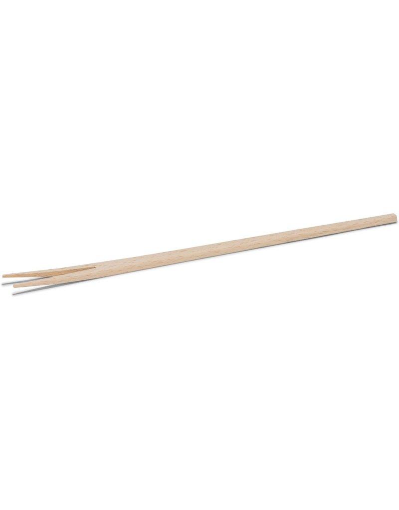 Poffertjes vork hout 27cm