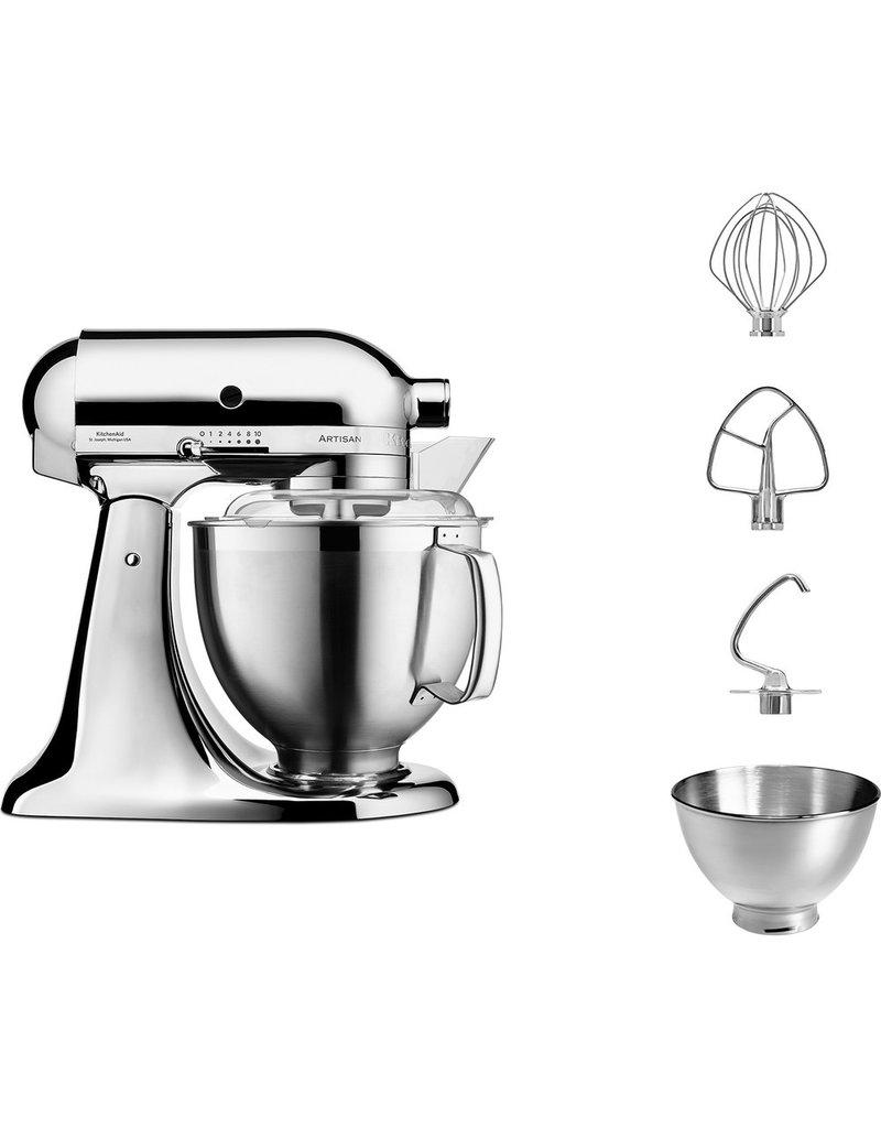 KitchenAid Artisan Keukenrobot Chroom 4,8 l