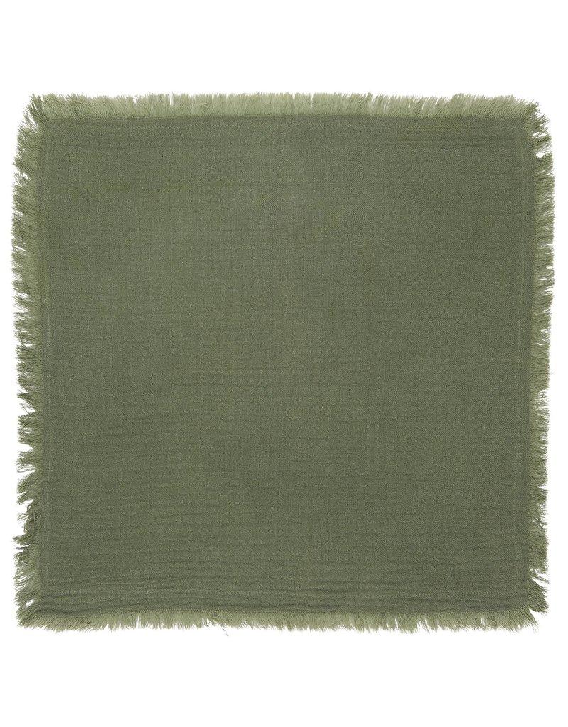 IB Laursen Servet Dubbel Geweven Groen 40 x 40