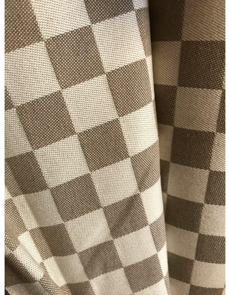 Blokdoek beige/zand 10 cm