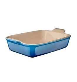 Le Creuset Rechthoekige Ovenschotel  Marseille Blauw 13 x 19 cm