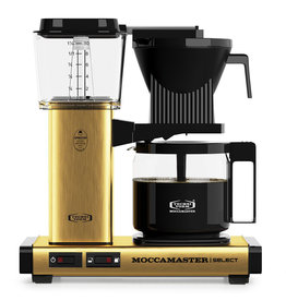 Moccamaster Moccamaster KBG Select Brushed Brass