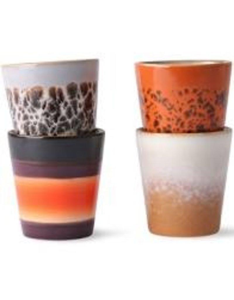 HK Living 70's Ristretto mug Jupiter