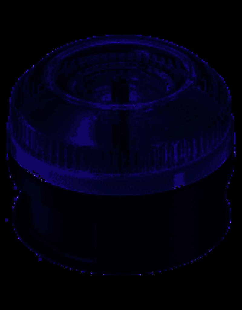 bamix Processormaalbak, zwart, vast mes