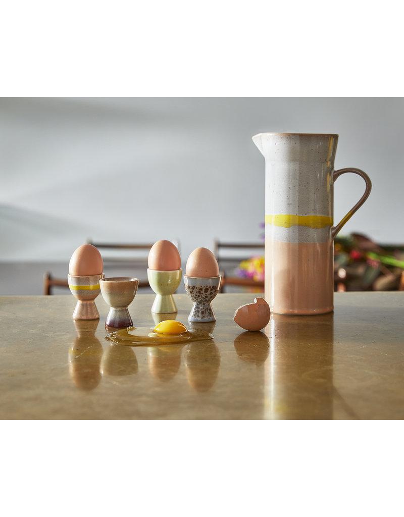 70's HK Living set van 4 eierdopjes
