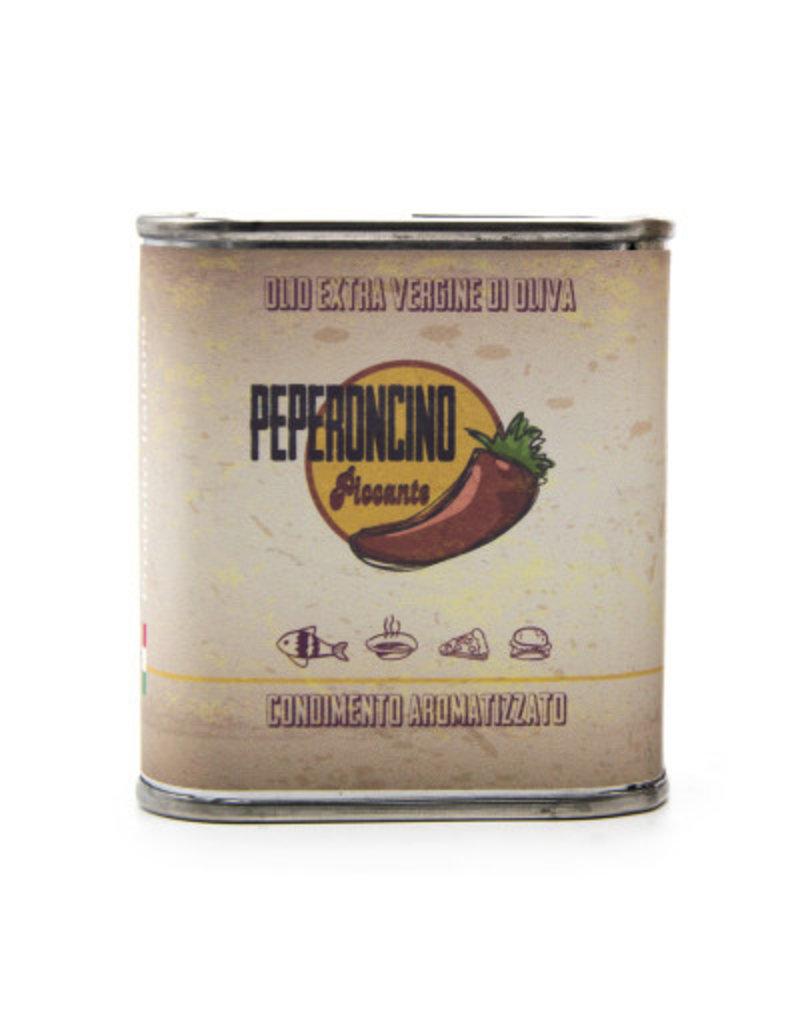 Peperoncino olijfolie blikje 100ml