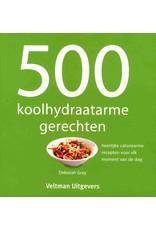 500 koolhydraadarme gerechten
