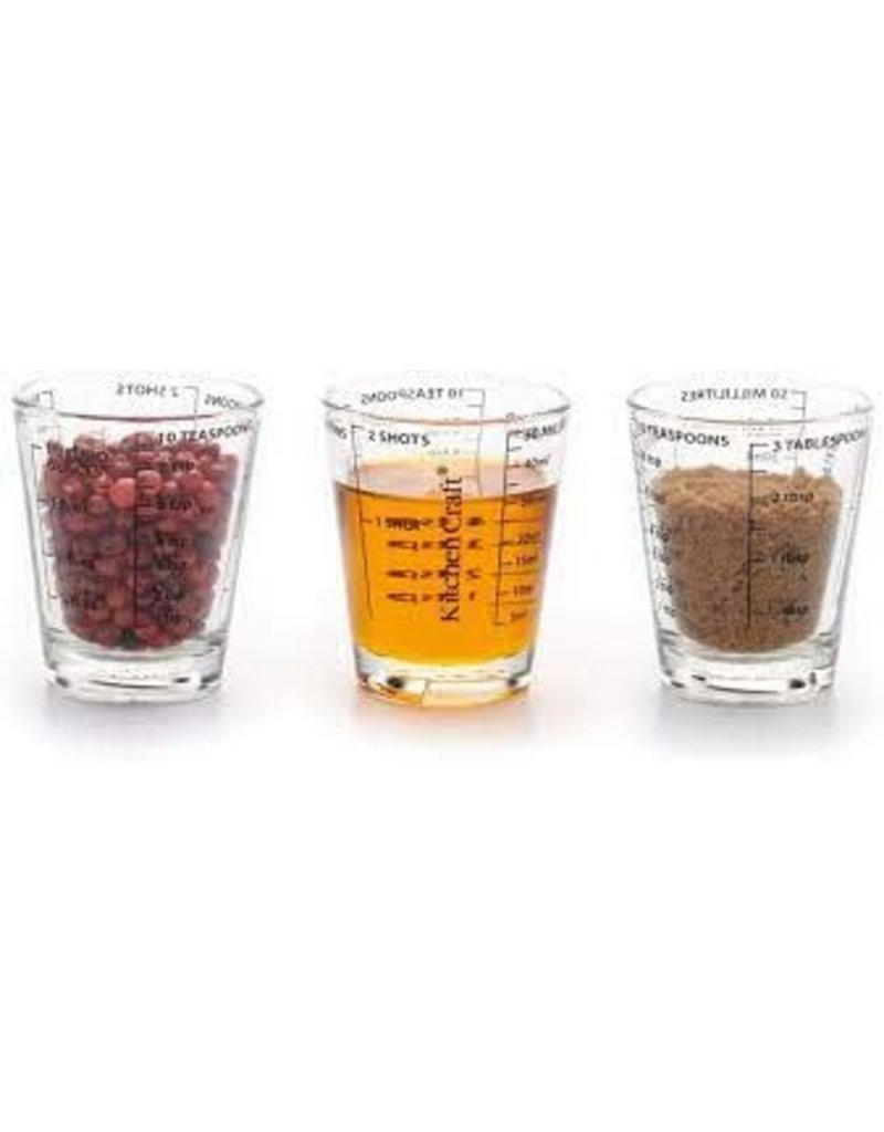 Maatbeker glas 50ml