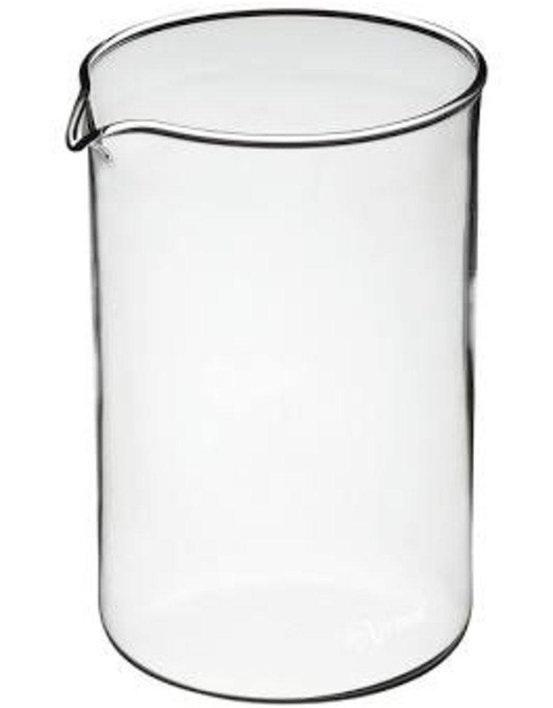 kitchen craft Cafetiere glazen reserve pot 3 kops