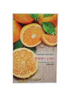 Nature Republic Real Natur Mask Sheet Orange (Tuchmaske mit Orangenextrakt)