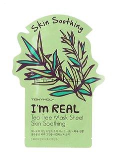 TONY MOLY I'm Real Tea Tree Mask Sheet Skin Soothing (Tuchmaske mit Teebaum-Extrakt)