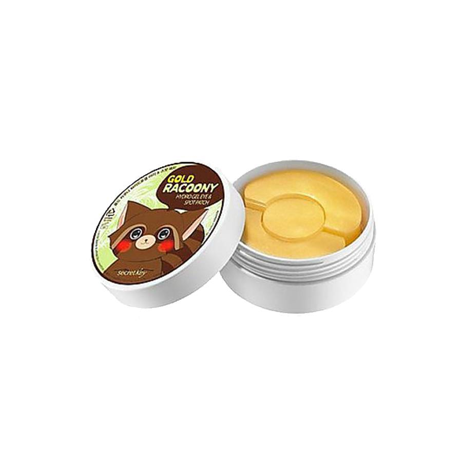 Secret Key Gold Racoony Hydro Gel Eye & Spot Patch (60 Stück Eye Patch & 30 Stück Spot Patch)