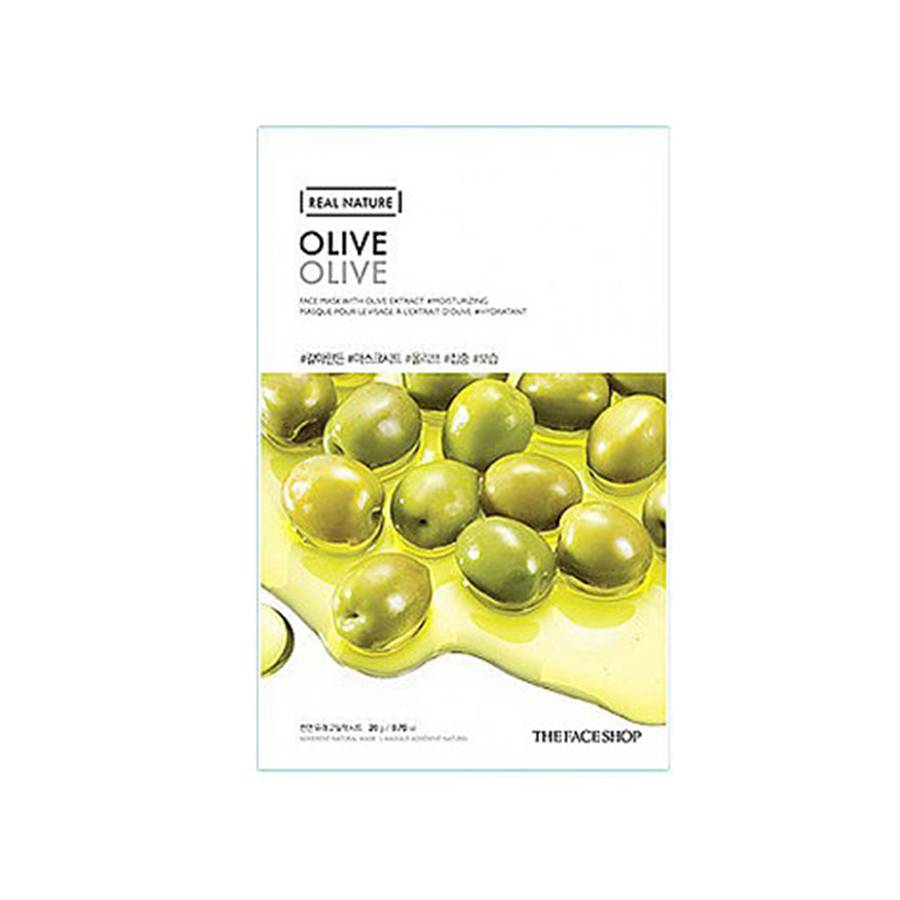 THE FACE SHOP Real Nature Olive Face Mask