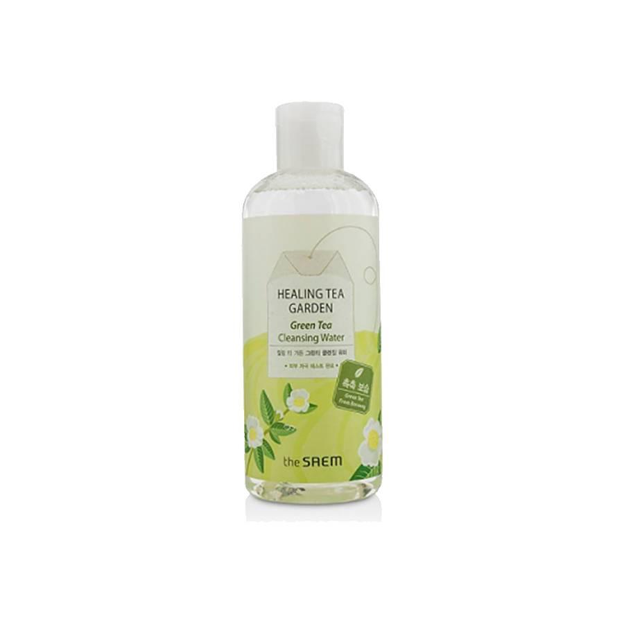 the SAEM Healing Tea Garden Green Tea Cleansing Water (300 ml)
