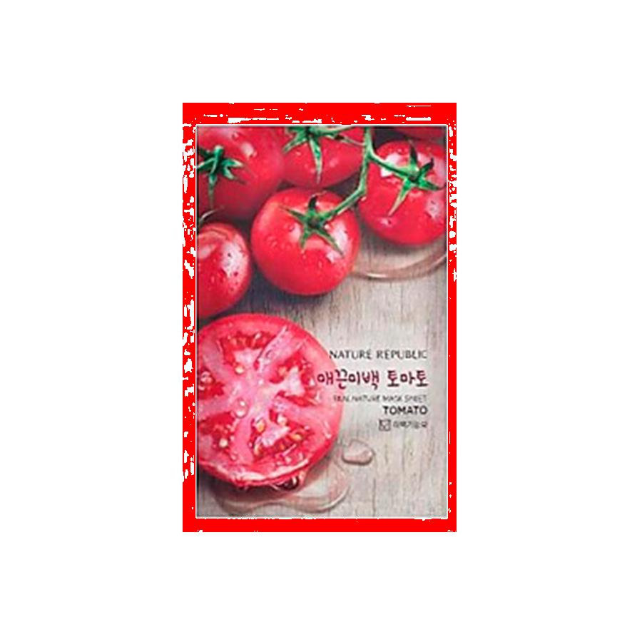 Nature Republic Real Natur Mask Sheet Tomato (Tuchmaske mit Tomate)