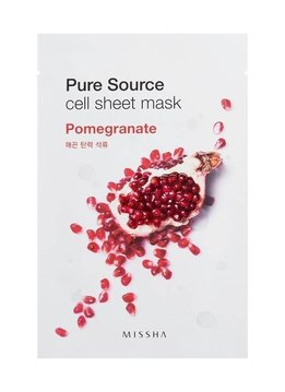 MISSHA Pure Source Cell Sheet Mask (Pomegranate)