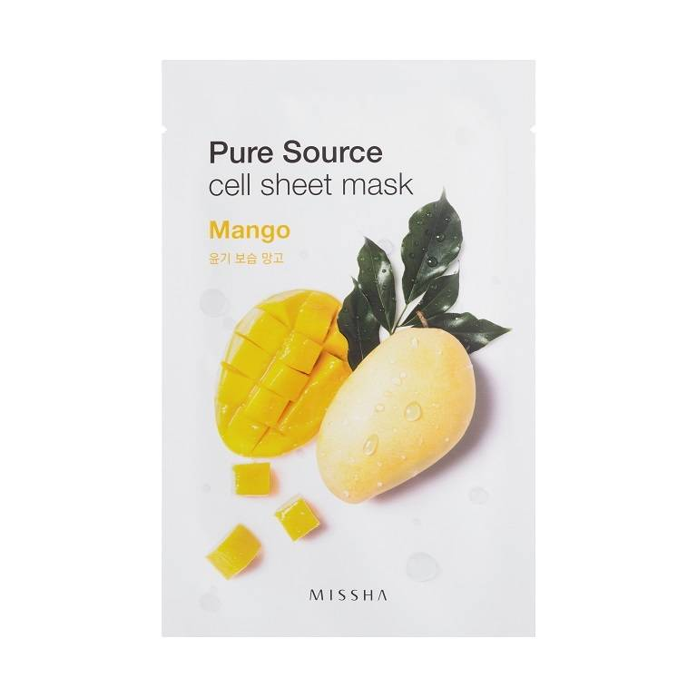 MISSHA Pure Source Cell Sheet Mask (Mango)