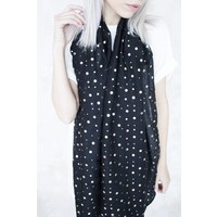 SHINY DOTS BLACK - SJAAL