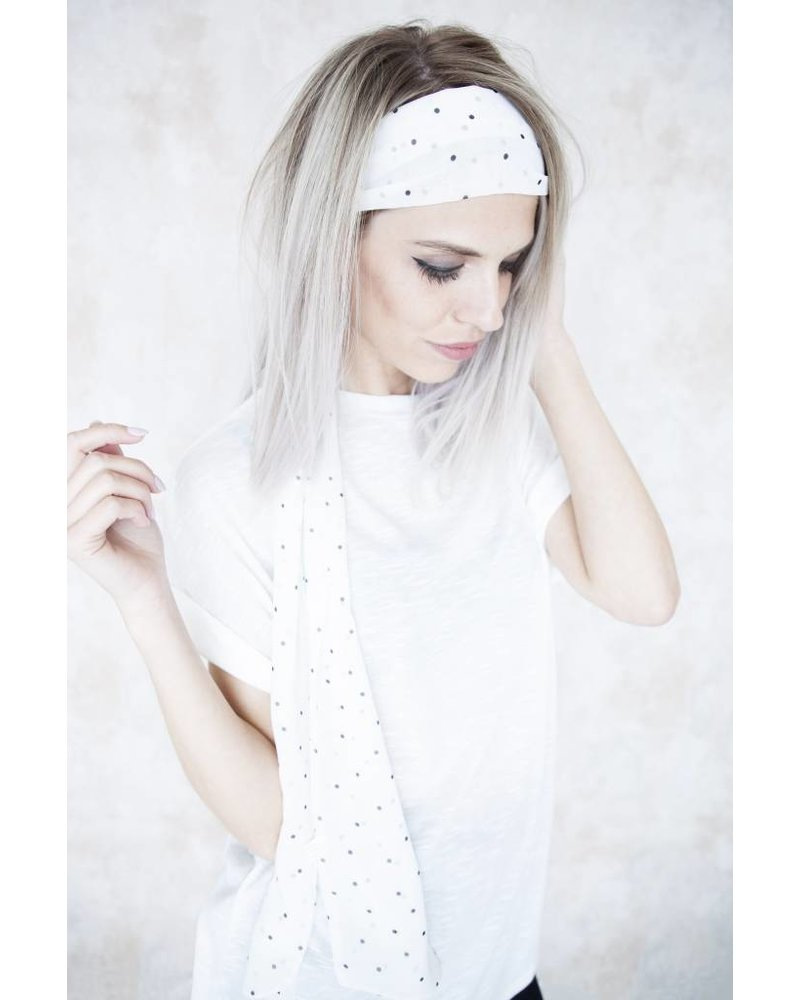 PENNY DOTS WHITE - SJAAL