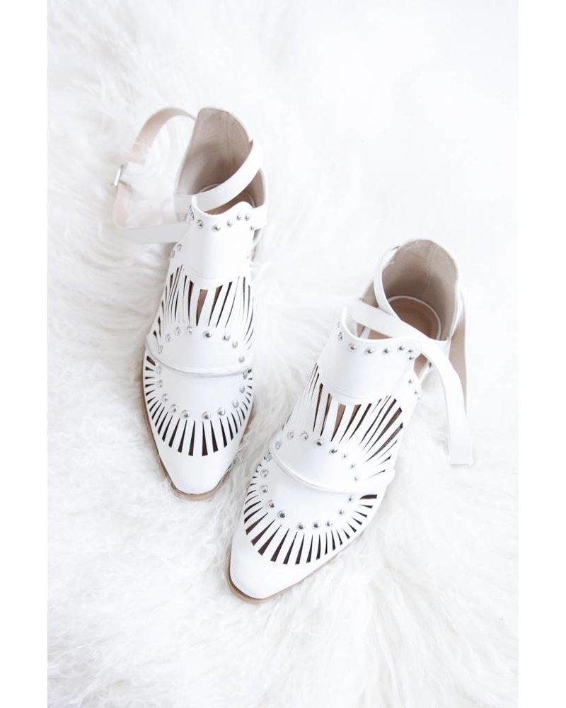 CHLOÃ‹ WHITE - BOOTS