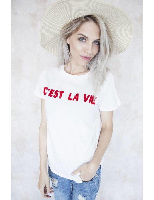 C'EST LA VIE WHITE