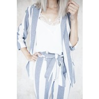 SUMMER STRIPES BLUE - BROEK