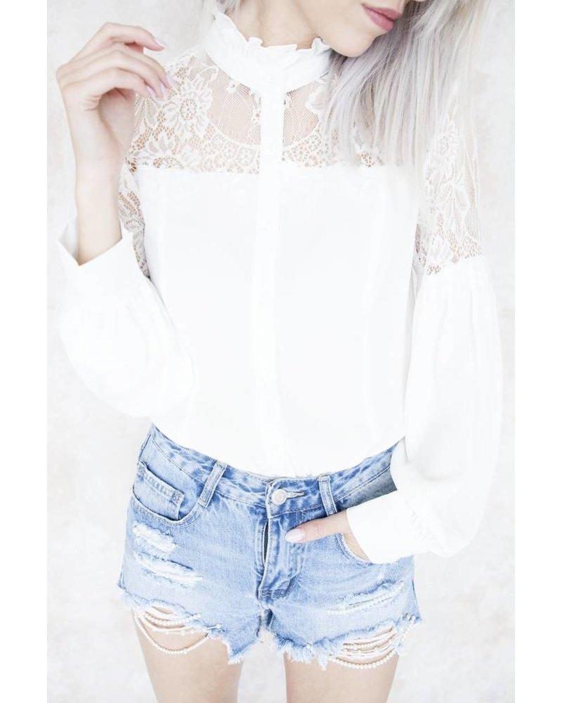LOONA WHITE - BLOUSE