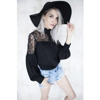 LOONA BLACK - BLOUSE