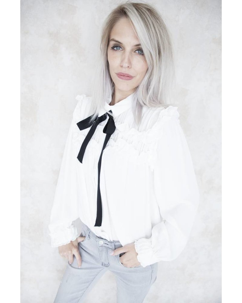 NARA WHITE - BLOUSE