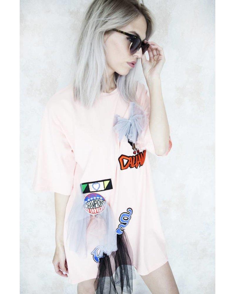 MIYUKI PINK - T-SHIRT