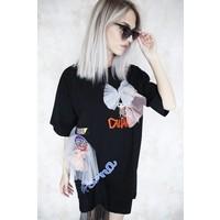 MIYUKI BLACK - T-SHIRT