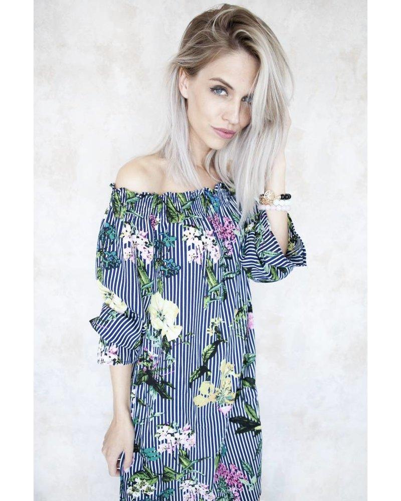 ROSALIE BLUE STRIPES - JURK