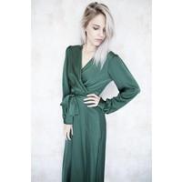 ELISE GREEN - MAXI DRESS