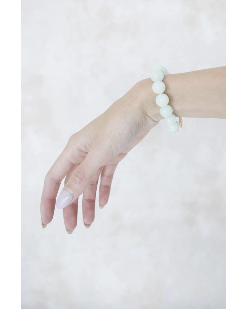 CECILLE HEARTED MINT - ARMBAND