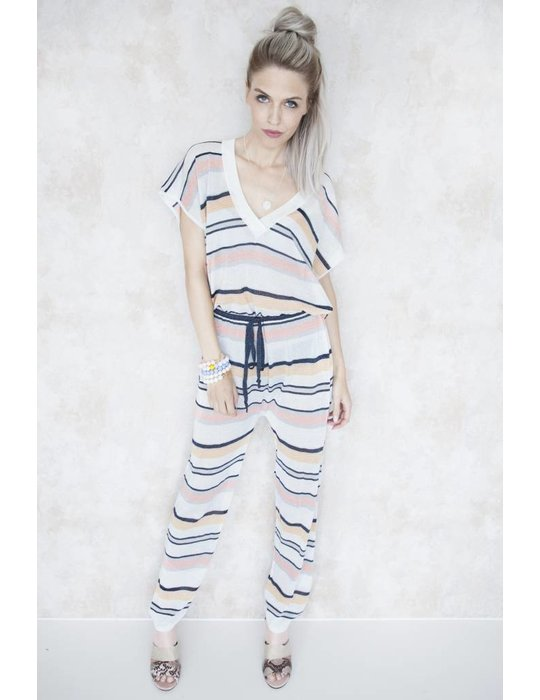 SPENCER STRIPED WHITE