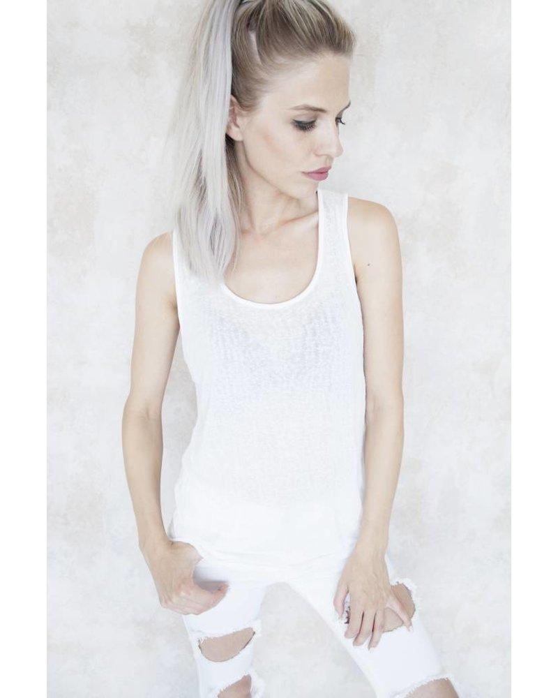 CLEO WHITE - TOP