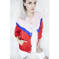 SILKY SANDY RED/PINK - JACKET