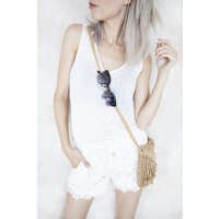 LINA WHITE - SHORTS