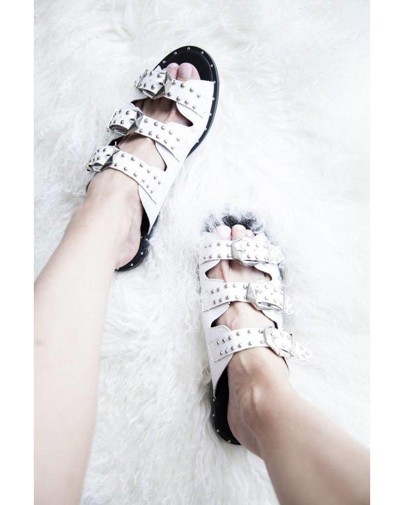 SOPHIA WHITE - SLIPPERS