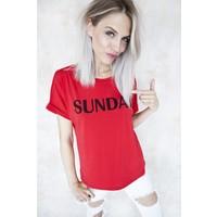SUNDAY RED - T-SHIRT
