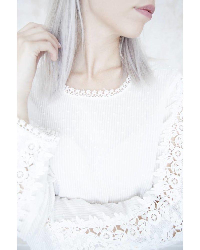 BEA WHITE - BLOUSE